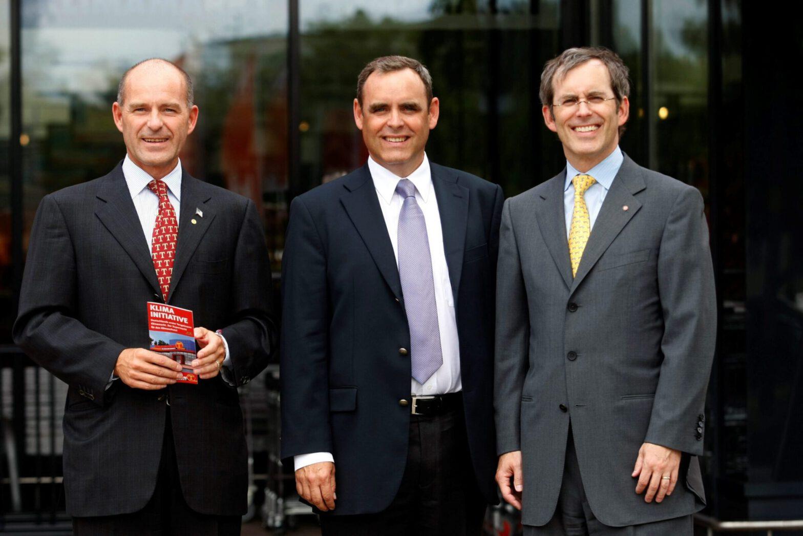 Karl-Erivan, Georg and Christian Haub